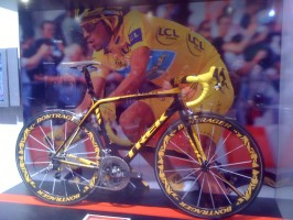 The bike Alberto Contador rode the final day of the Tour de France.