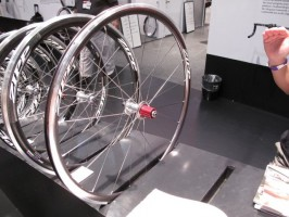 The new Zipp 101 uses an all-aluminum rim.