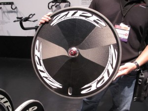 Fabian Cancellara just won the World Championship TT on the new Zipp Super 9 disc.