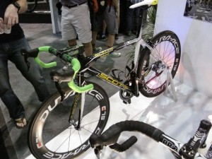 One of Cavendish's bikes.