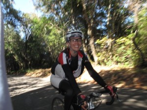 Even with more than 7000 feet of climbing (my Garmin read 7300), most riders were all smiles.