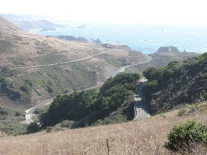 The descent into Jenner was as thrilling as it was gorgeous.