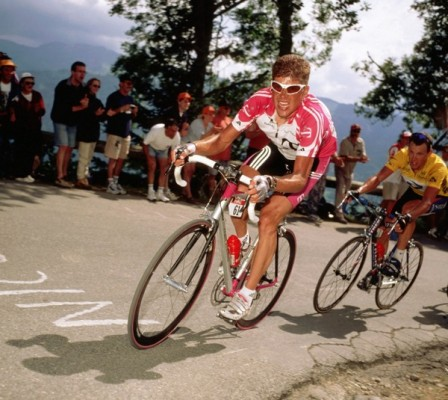 Col Joux Plane TdeF 2000 Ullrich-Armstrong