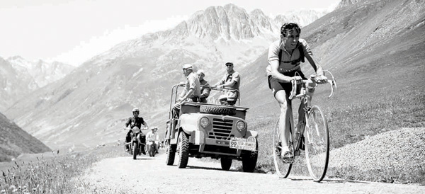 File picture dated 1952 shows cyclist Fausto Coppi