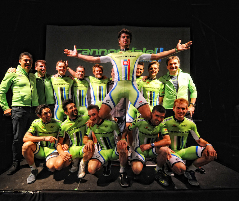 The 2014 Cannondale Team