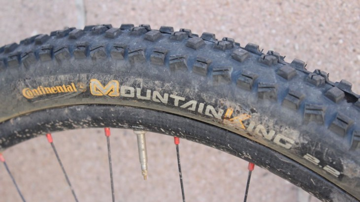 Continental Mountain King II Tires