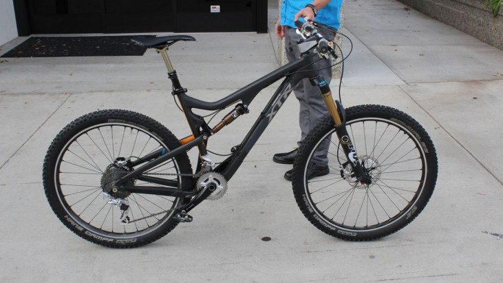 First Look: Shimano XTR 9000 Prototypes