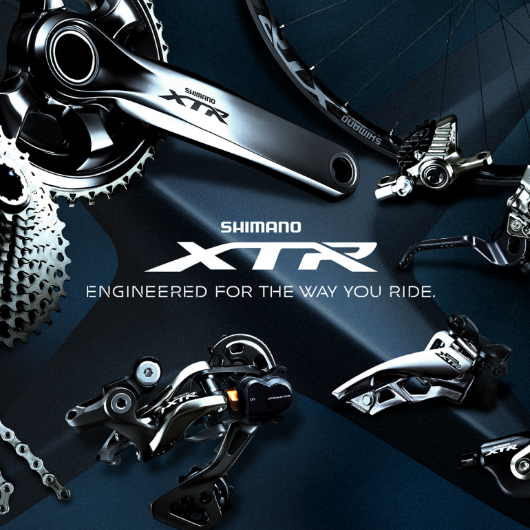First Look: Shimano XTR 9000 Mock-Ups