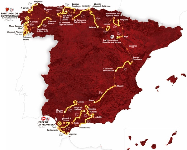 Live Coverage – Vuelta a España 2014: Stage 1, Team Time Trial at Jerez de la Frontera, 12.6km