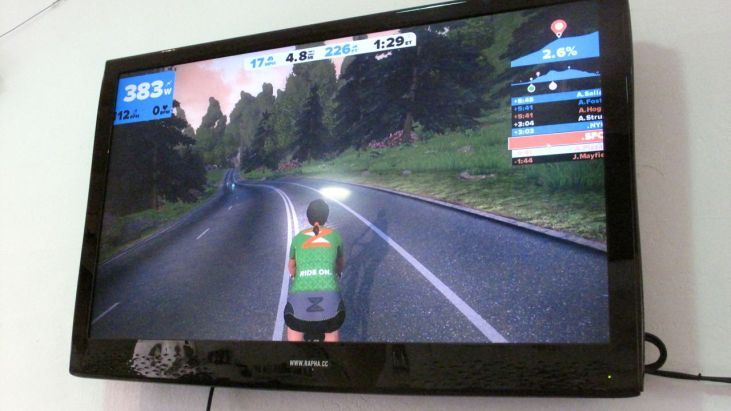 Zwift: Indoor Training, Made Bearable