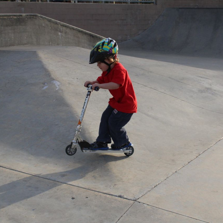 Learning to Ride: the Razor Scooter