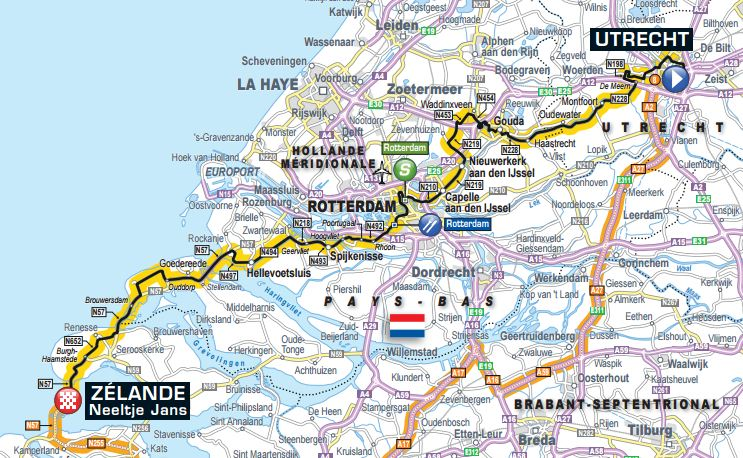 Live Coverage – Tour de France 2015 Stage 2, Utrecht to Zélande, 166km
