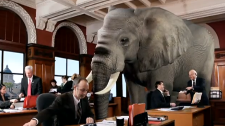 The Elephant, The Room, And The Hidden Agenda