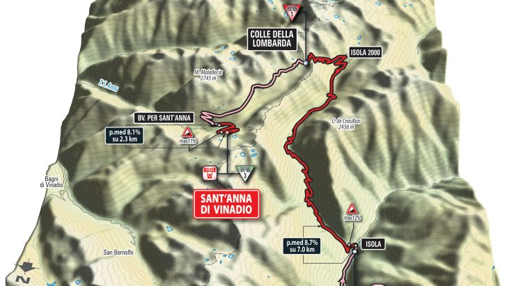 Live Coverage: 2016 Giro d'Italia, Stage 20, Guillestre to Sant'Anna di Vinadio, 134km