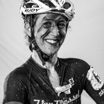 Of the many post-race portraits, this woman's homage to Bowie kind choked us up; she rocks. Photo by Ryan Richardson.