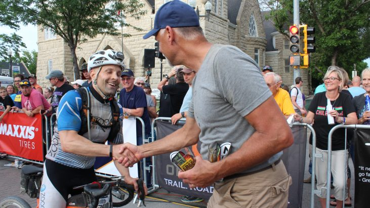 Dirty Kanza: The Finish