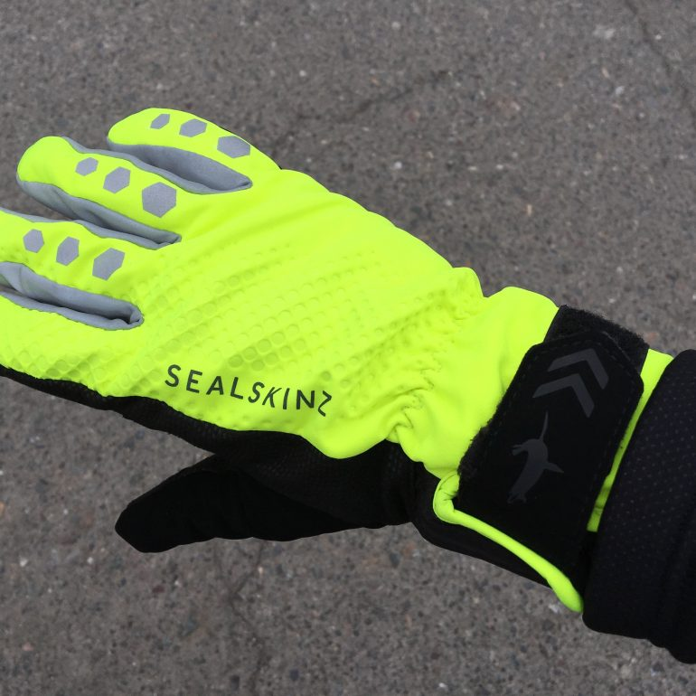 Warm, Dry, Di2 Friendly: The Seal Skins All Weather Cycling Gloves