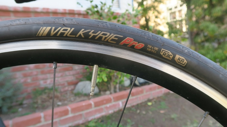 His and Hers Race Tires: Kenda Valkyrie Pro