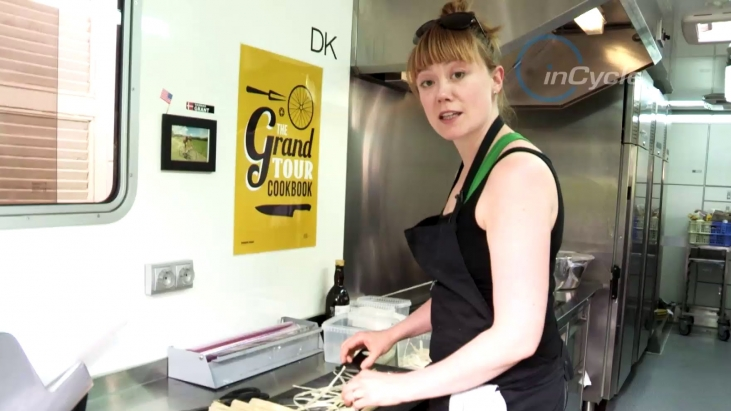 Paceline Tandem: Author and Chef Hannah Grant