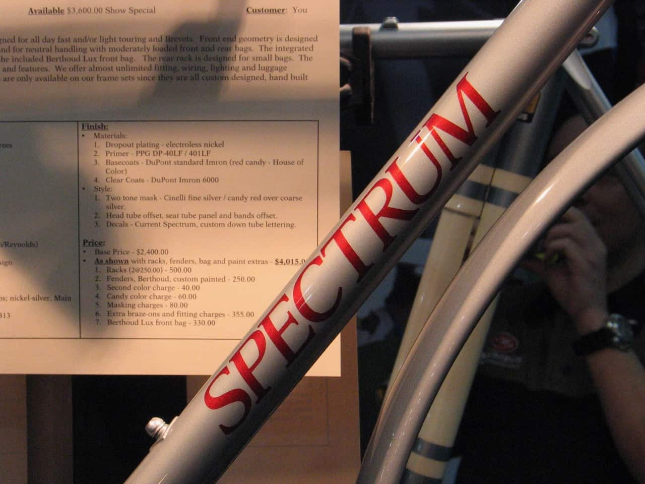 Spectrum Cycles Eyes the Finish Line | RKP