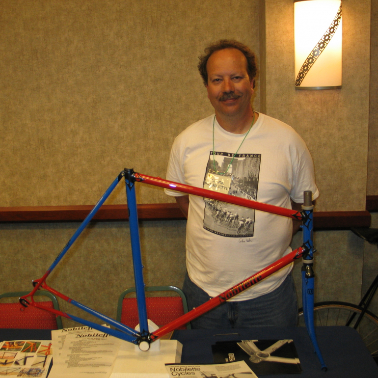 The Pull: Frame Builder Mark Nobilette